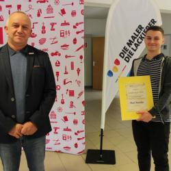 Sieger im Landesleistungwettbewerb der Maler und Lackierer/Fahrzeuglackierer 2020